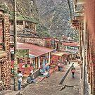 The Village Known as Machu Picchu - Aguas Calientes, Peru by Edith Reynolds