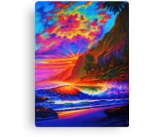 Molokai Sunset Canvas Print