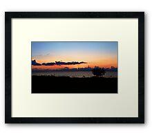 End of Days. Framed Print