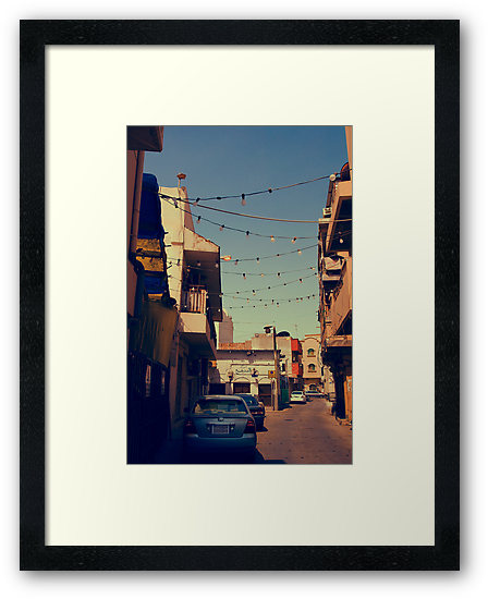 Bahrain Alleyway by Andrew Hillegass