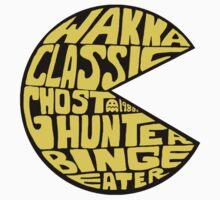 Sticker: Not So Wordy Ghost Eater by joshmirm