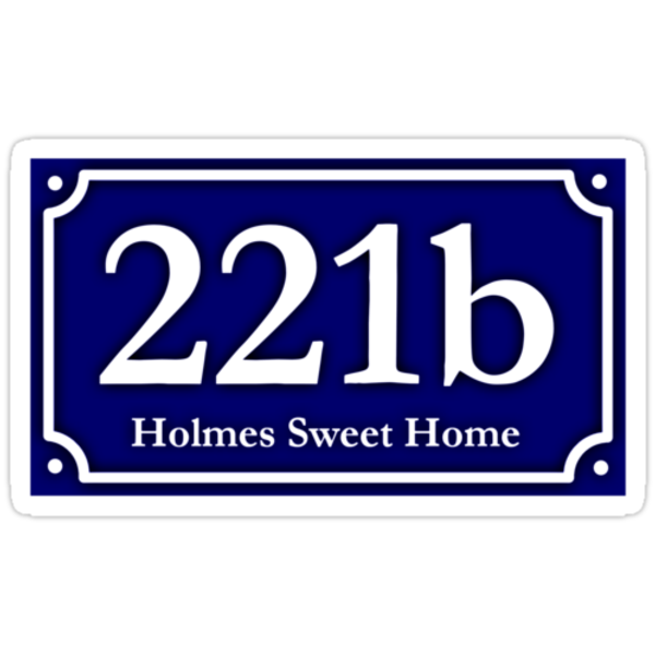 221b - Holmes Sweet Home by Brother Adam