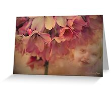 Blossom Baby  Greeting Card