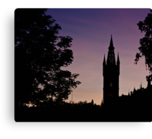 Spire in the Gloaming Canvas Print