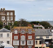 Dickens House and the Windfarms by TerriBethell