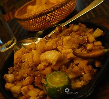 I know you want sisig by iamYUAN