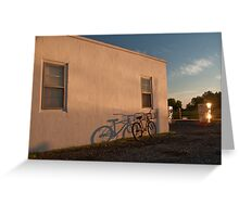 The fillin station, Smith Island MD Greeting Card