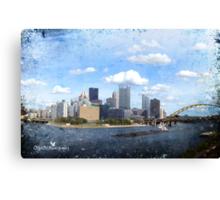 The City of Bridges Canvas Print