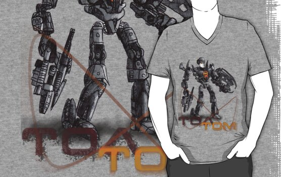 Toa Tom T-Shirt / Sticker by Tom  Rule