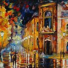 IMPRESSION - LEONID AFREMOV by Leonid  Afremov