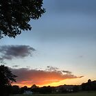 sunset nr boathouse saltaire by simon sugden