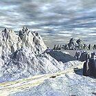 Winter Trail by Norma Jean Lipert