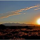 High Desert Sunset by Chet  King