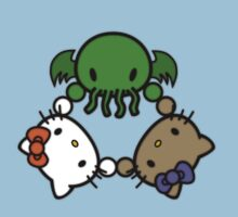 Cthulhu Kitty T-Shirt by devourerofstars