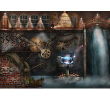 Steampunk - Industrial Society Photographic Print