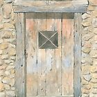 Old Door, Lavaudieu, France by ian osborne