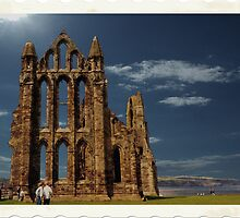 Whitby Abbey. by albutross