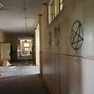 Hallway - Abandoned Elementary School by ashley hutchinson