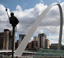 Millenium Bridge by Alison Ward