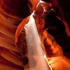 Ray of Light - Antelope Canyon by thejourneysofar