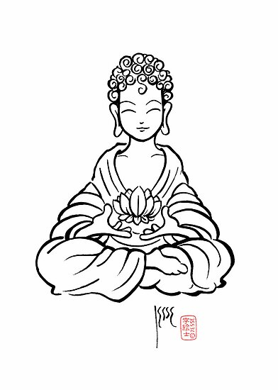 Buddha Lotus by 73553