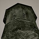 St Barnabas' Church Tower, Setmurthy. by Lou Wilson