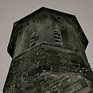 St Barnabas' Church Tower, Setmurthy. by Lou Wilson