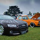 Audi & MK1 Golf by Adam Kennedy