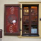 Prague Bar Window 2 by Tom  Reynen