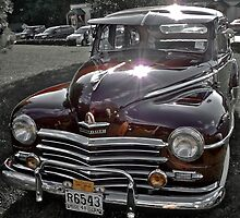 Antique 1948 Plymouth - Cruise Night - Oak Harbour - Exeter RI by Jack McCabe