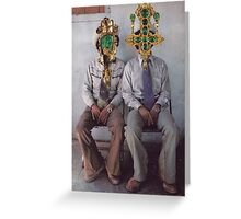 M Blackwell - How They Loved Casual Friday! Greeting Card