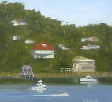 Life on Gymea Bay by Tash  Luedi Art