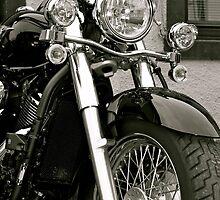 Vintage Motorcycle by Lou Wilson