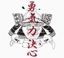 Edo Samurai Helmet by DjinCo