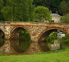 Riverside Reflections by Alison Scotland