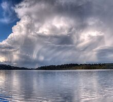 Wet Canvas #3 - The Second Cut - Narrabeen Lakes, Sydney - The HDR Experience by Philip Johnson