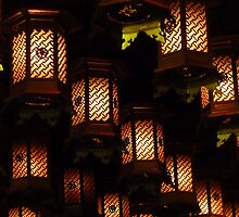 Henjokutsu Cave lamps, Japan by cupofmanatee