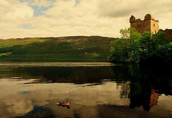 """""""CALM ON THE LOCH"""" by snapitnc"""
