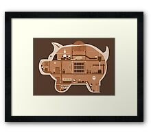Piggy Bank Framed Print