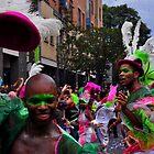 Os Bailarinos Brasileiros - Nottinghill Carnival by Victoria limerick
