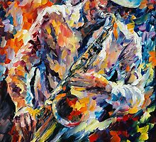 IN THE MOOD - LEONID AFREMOV by Leonid  Afremov