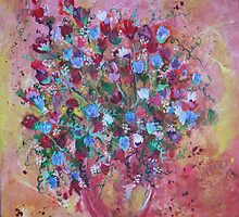 BOUQUET SWEET PEA MAGIC by eoconnor