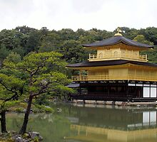Golden Pavillion by Jenny Hudson