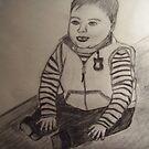 CARTERS BABY SKETCH FROM ART SCHOOL by TSykes
