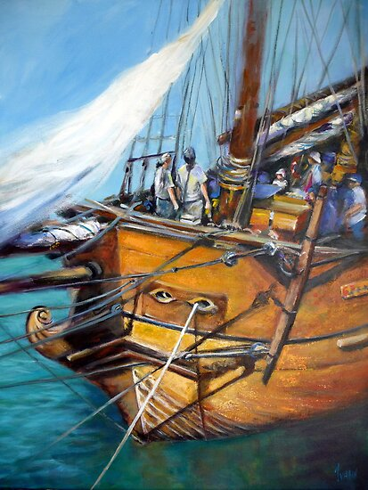 The Endeavour by Ivana Pinaffo