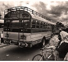 Chicken Bus - Xela, Guatemala by Alex Zuccarelli