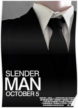 Slender Man Film Poster by Animenace