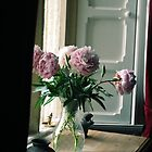 Flowers in the Window by Claire Elford