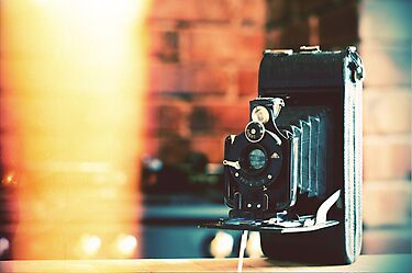 vintage camera. by cavan michaelides