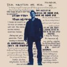 Dean Winchester quotes - blue by Amberdreams